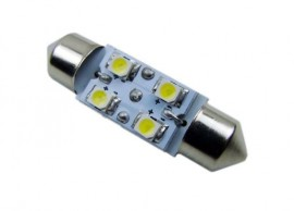Festoon Error Canceling LED License Plate Light
